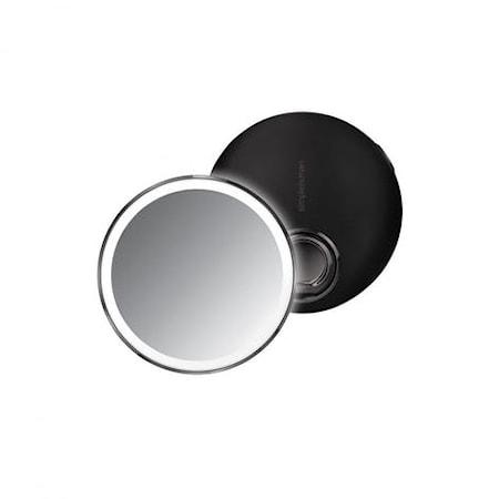 Sensor Spegel Kompakt Svart Rostfritt Stål 10 cm