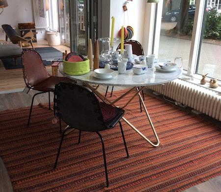 Big O table Matbord Green Indio/Svart Ø120 cm