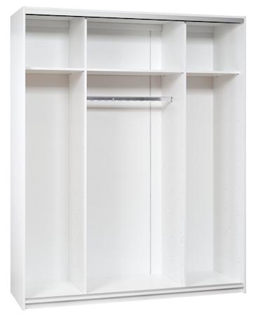 Ida garderobe – 180, Hvid/Hvid