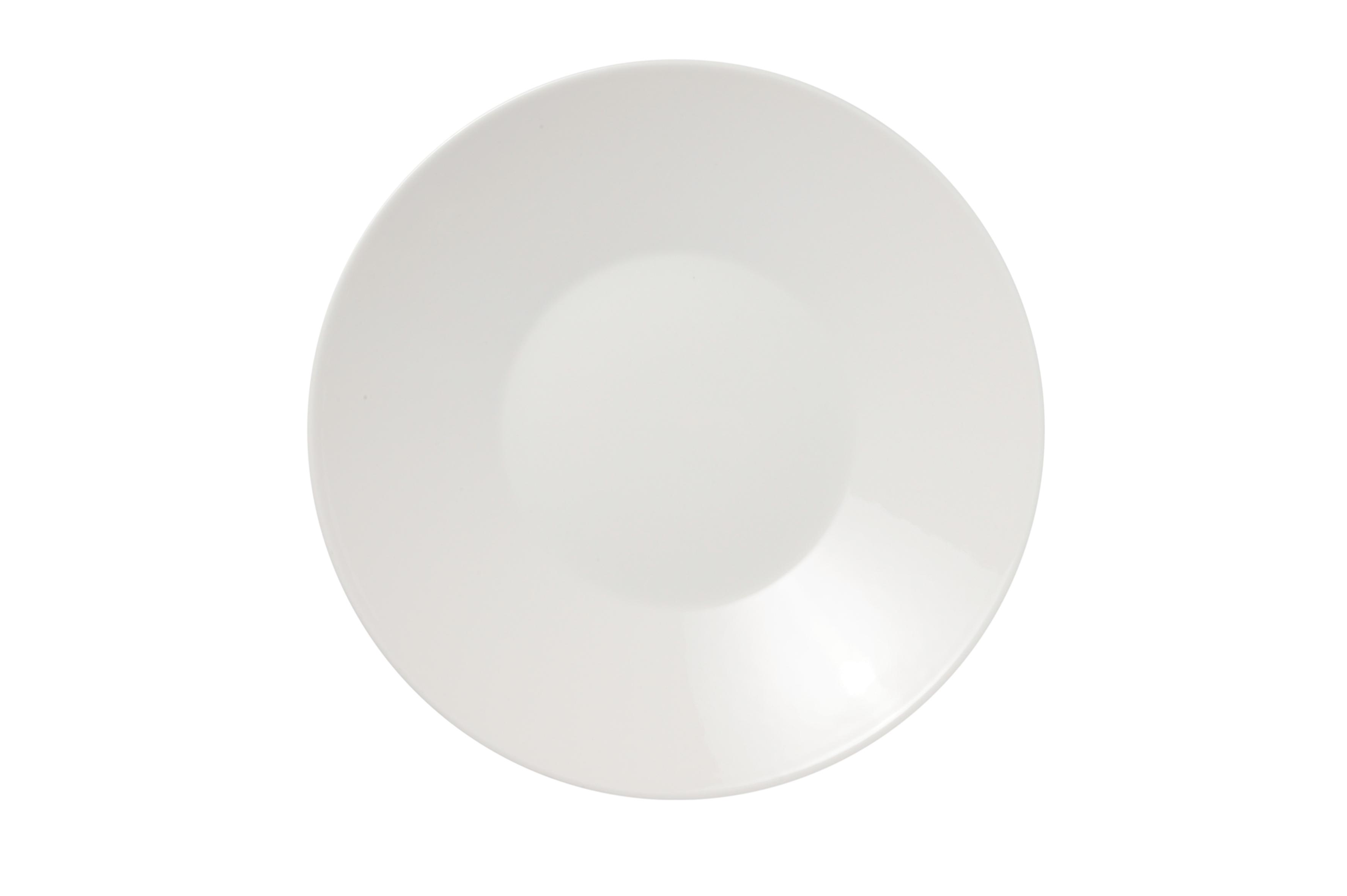KoKo Tallrik 23 cm vit