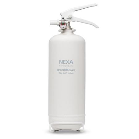 Nexa Fire & Safety Brandsläckare Vit 2kg 13A