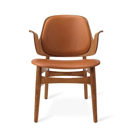 Gesture Lounge Chair BS Camel Teak
