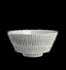 Stripes Skål Grå 15cm/70cl