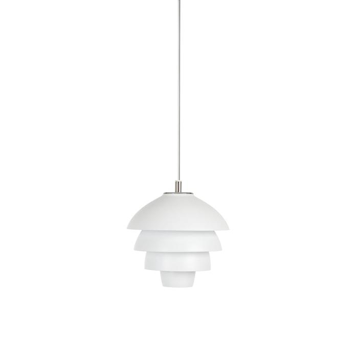 Valencia Pendel Mattvit LED 18 cm