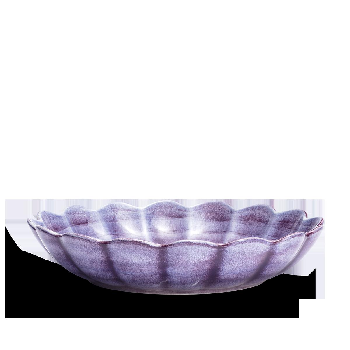 Ostronskål Stor Viol 31 cm