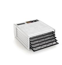 Tørreovn med Timer, 5 plader, Hvid