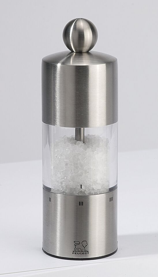 Commercy Saltkvarn akryl & rostfritt 15 cm