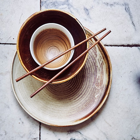 Kyoto Skål Keramik Brun/Vit 30 cl