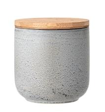 Kendra Jar w/Lid, Harmaa, Kivitavara