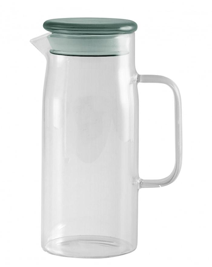 Glassbeholder Blått Lokk Small 21,5cm