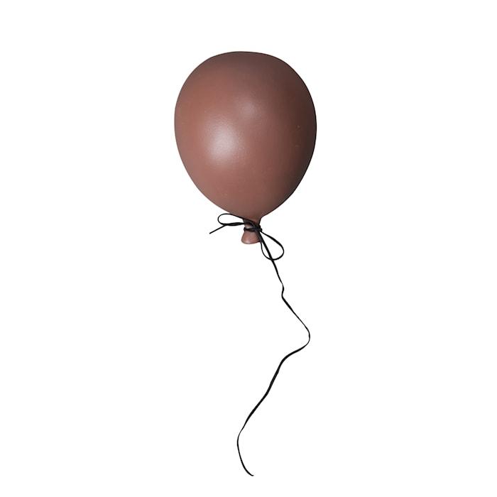 Ballon Dekoration Dusty red