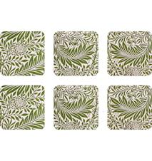 Åry Home Larkspur Glasunderlägg 6-pack Grön