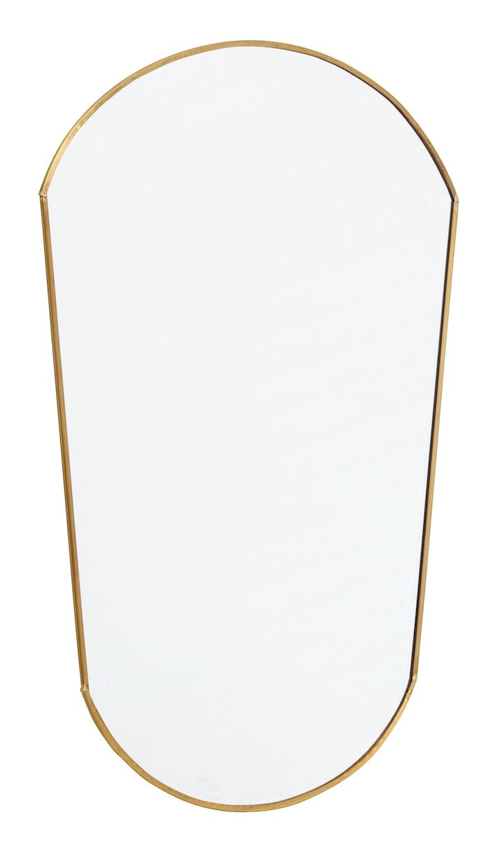 Speil Oval 51x34 cm - Gull