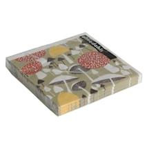 I svampskogen paperiservetti