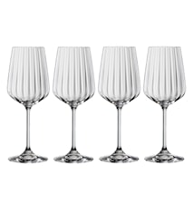 LifeStyle Vitvinsglas 44 cl 4-pack