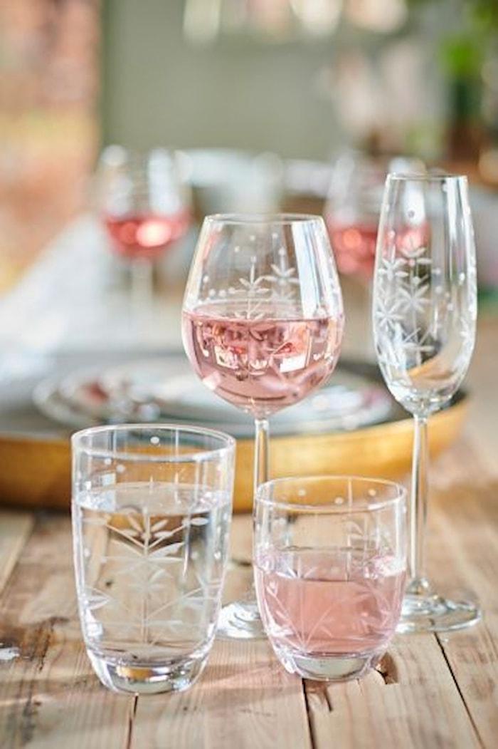 Basics Longdrinkglas Etching 40cl