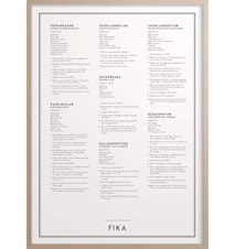 Fika Poster 50x70 cm