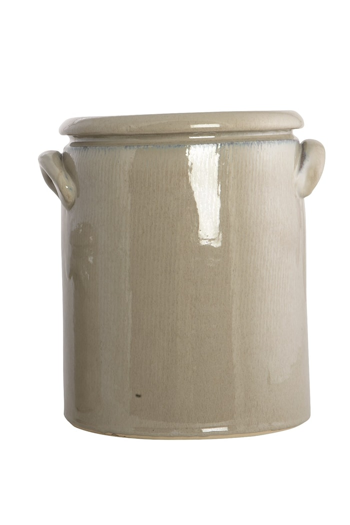 Blomsterkrukke Pottery 24 cm - Sand