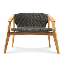 Knit armchair - Teak