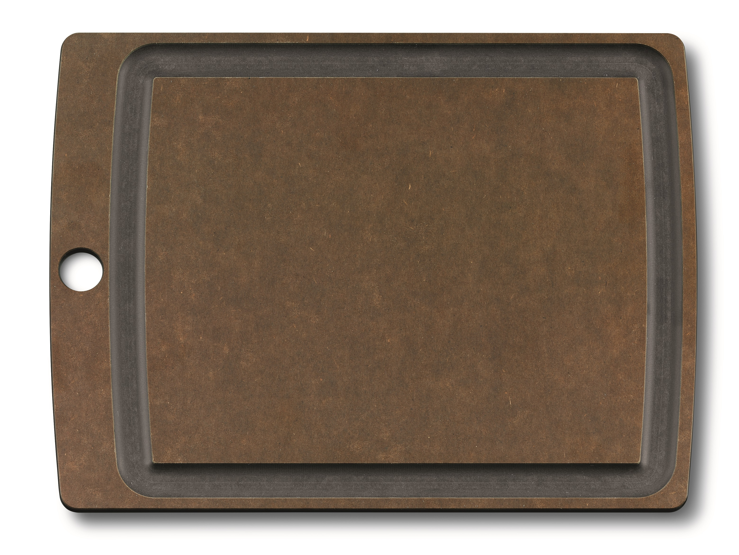 Allrounder Cutting Board M brown with juice groove