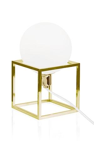 Bordlampe Cube Messing