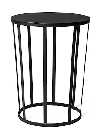 Petite Friture Hollo sidebord/stool ? Svart