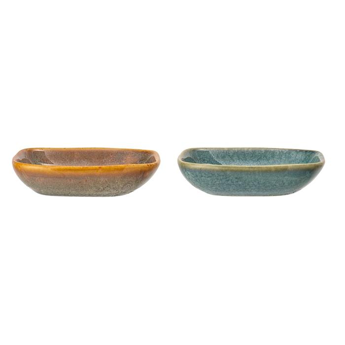 Aime Serving Dish, Multi-color, Stoneware