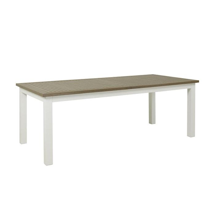 Alpha Spisebord 152 cm - Hvit