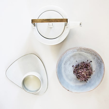 Kyoto Keramik Tekanna Vit