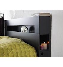 Wilma sänggavel Svart