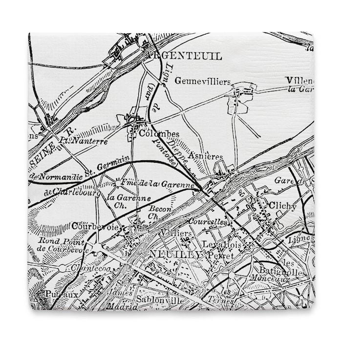 Servett Paris 17x17 cm
