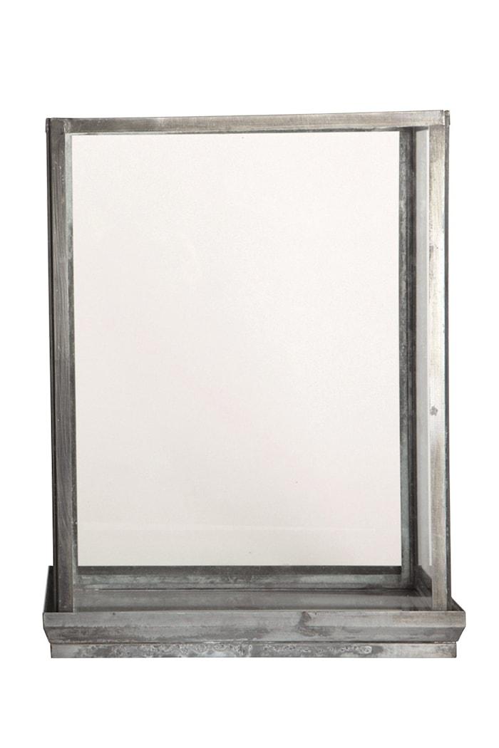 Glasdisplay 28x17x38 cm - Jern