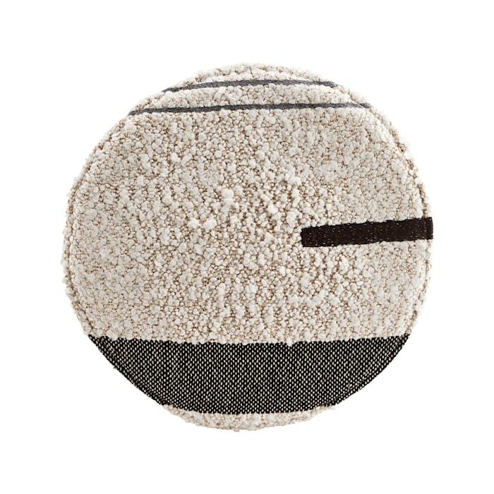 Cuscino seduta Rampur bianco sporco 38 cm