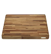 Cutting Board 45x45 cm, Walnut Wood