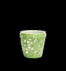 Spets Kynttilälyhty Vihreä 7 cm