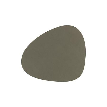 Curve Glasunderlägg 11 x 13 cm Nupo Grön