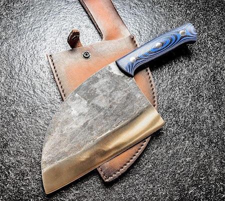 Mad Bull - Serbisk kockkniv 18cm