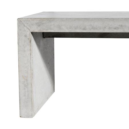 Brooklyn Bänk betong/grå