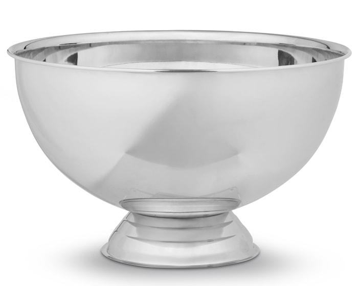 Champagneskål blank stål enkel