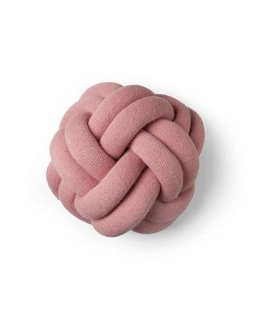 Knot tyyny vaaleanpunainen