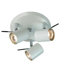 Hyssna lámpara LED de techo blanco