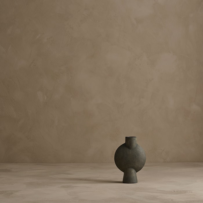 Sphere Bubl Vase Mini - Mørkegrå