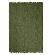 Nanda Matta Ull Green Melange 170x240 cm