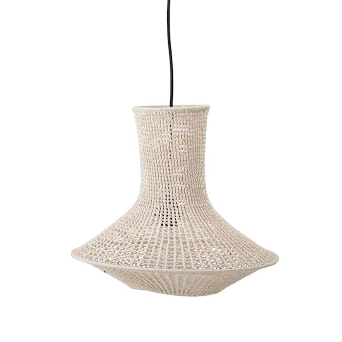 Lampskärm Bomull Natur Avlång
