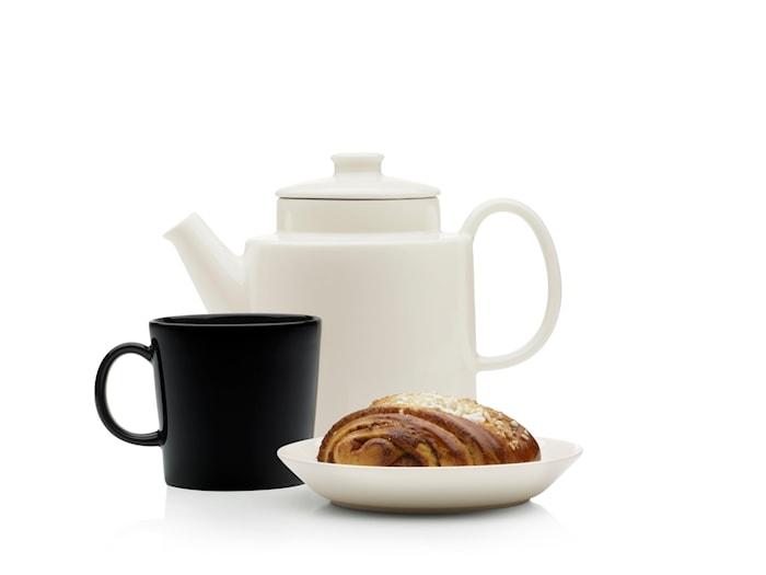 Teema Teapot 1 l White