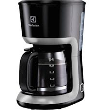 Kaffebryggare 12 Koppar Svart/Silver