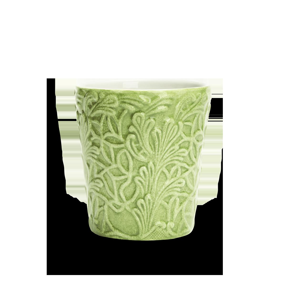 Spets Mugg Grön 30 cl