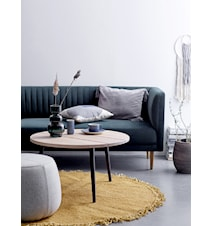 Cozy Soffbord Ek Natur Ø80cm
