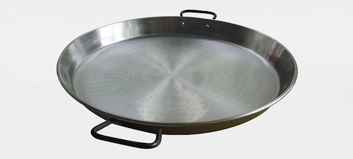 Paellapanna Kallvalsat Stål 70 cm