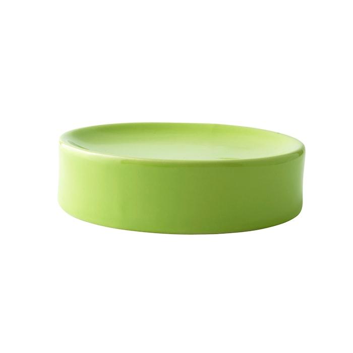 Sæbeskål - Keramik - Lime - D 11,0cm - H 3,0cm - Stk.